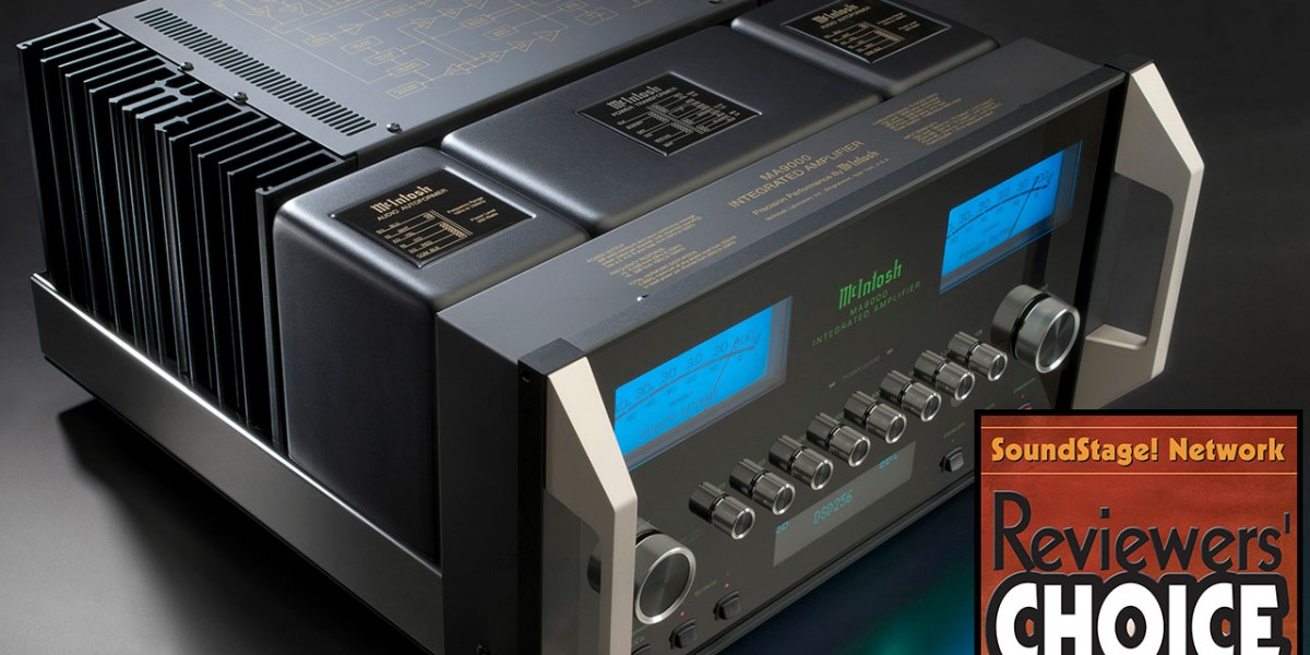 McIntosh MA9000 wins Reviewers' Choice Award from SoundStage! Network
