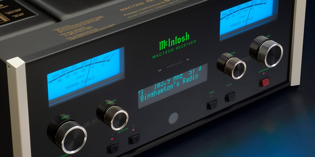 """TED Magazine says the McIntosh MAC7200 Receiver """"is a pure music machine"""